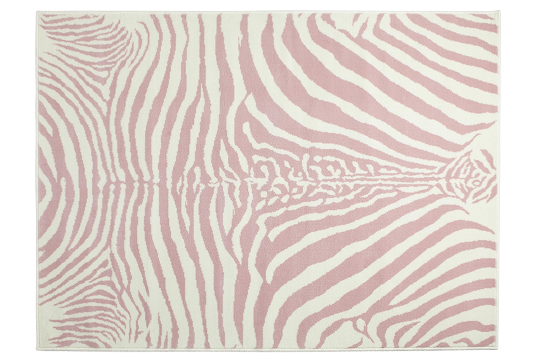 Tapis enfant MOTIF ZEBRE en acrylique 140x200cm - LORENA CANALS