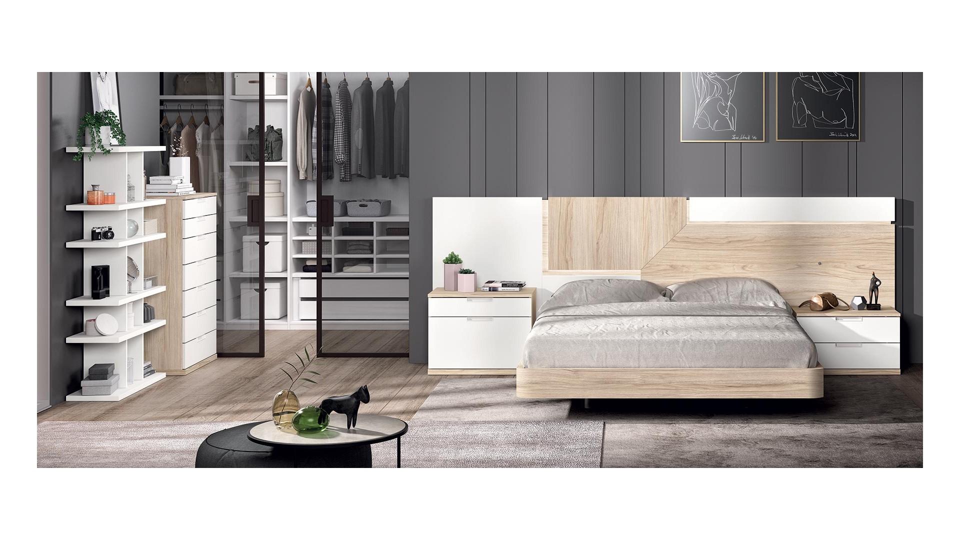 Chambre à coucher adulte PERSONNALISABLE COSMO 3 - GLICERIO
