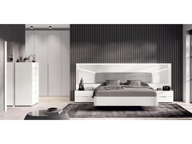 Chambre a coucher adulte complete PERSONNALISABLE COSMO 05 - GLICERIO