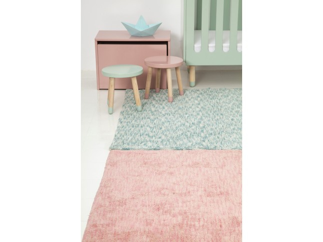 Tapis enfant MIX SMALL 90x160cm en coton lavable - LORENA CANALS