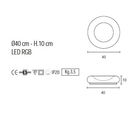 lampe de chevet design rondo led d 39 un design unique. Black Bedroom Furniture Sets. Home Design Ideas