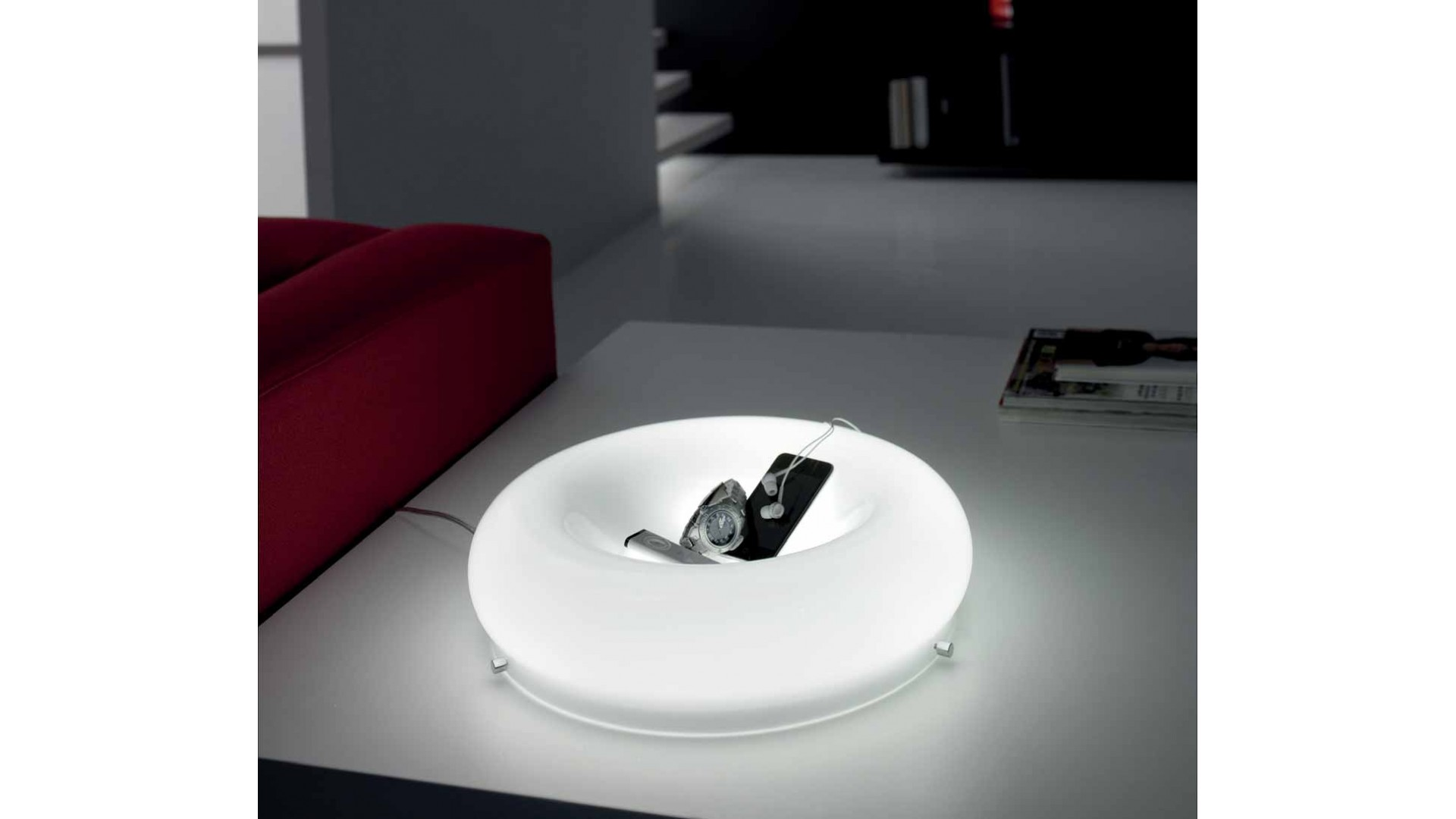 Lampe de chevet ou table design RONDO - SELENE