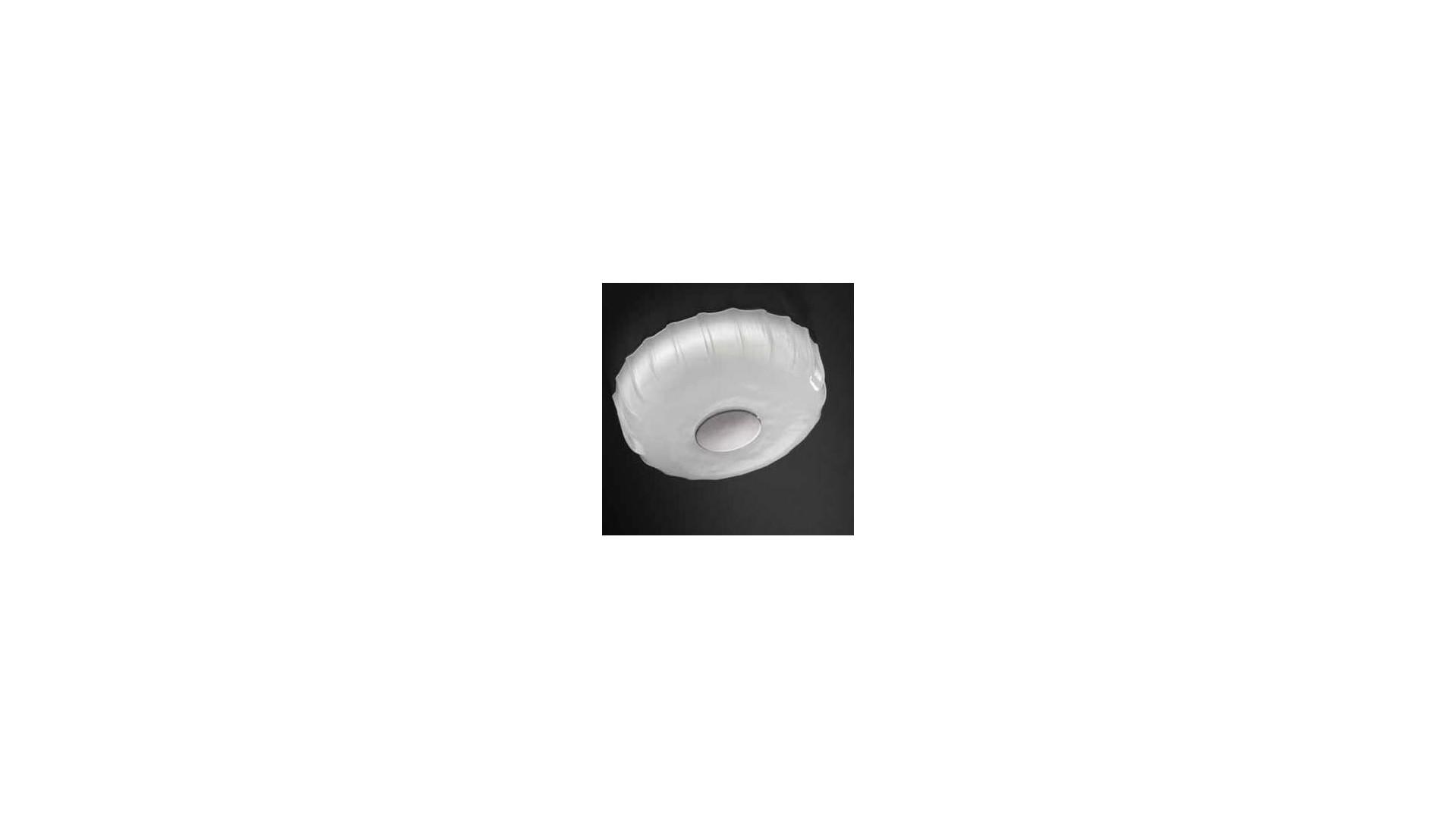 Plafonnier Design BIG CAP Verre Blanc - SELENE