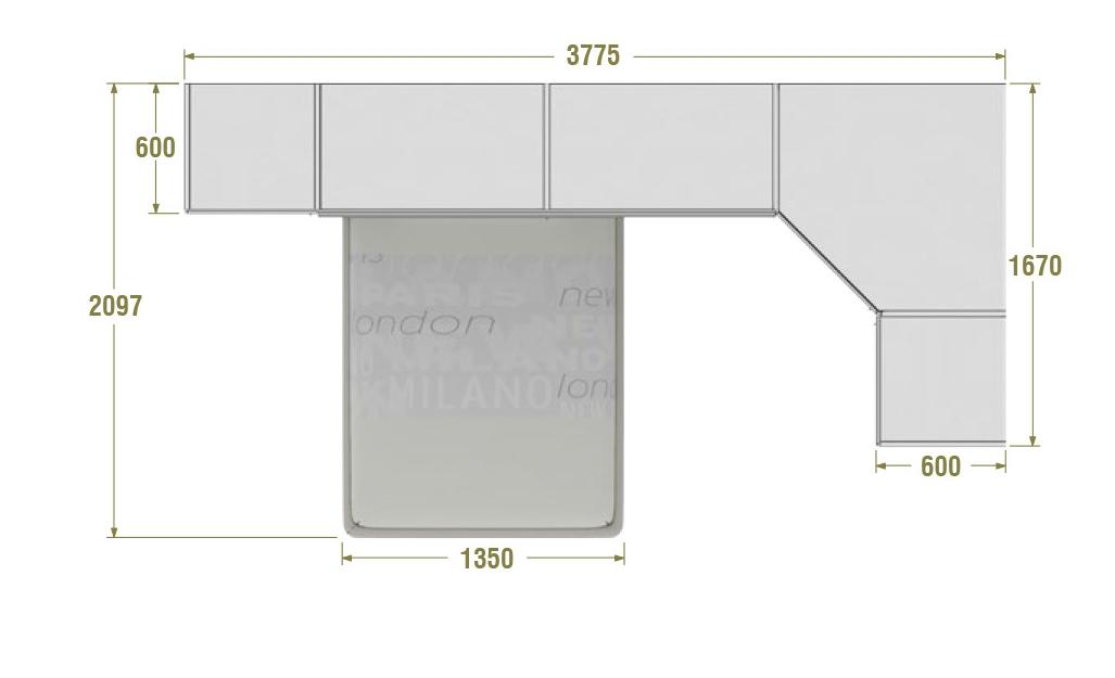 Chambre pont adulte best last meubles chambre complte for Chambre complete adulte lit pont