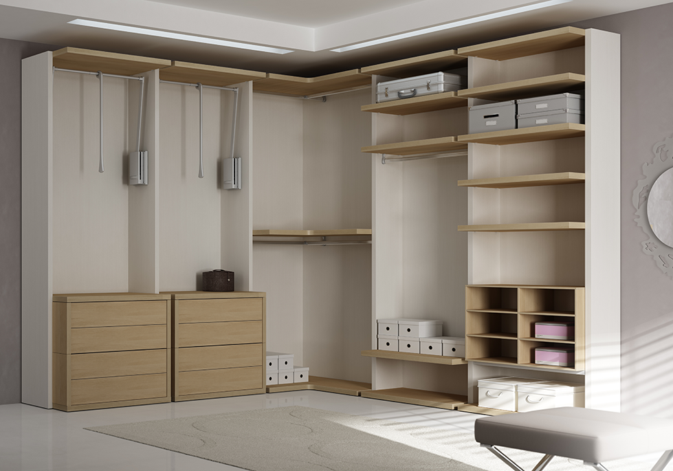 dressing sur mesure en l fonctionnel pure moretti. Black Bedroom Furniture Sets. Home Design Ideas