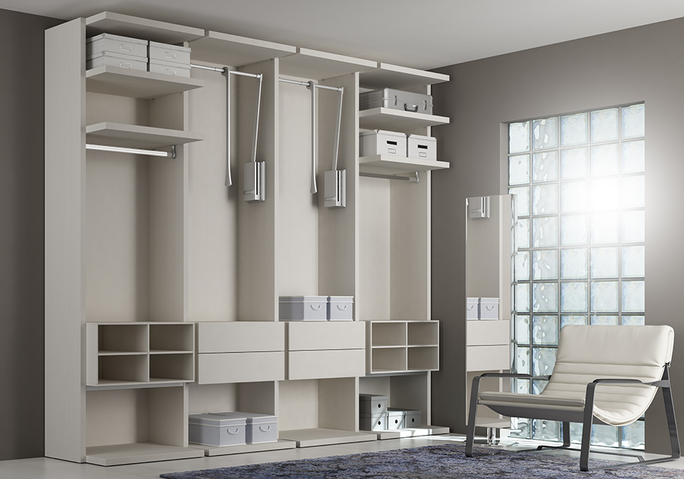 dressing sur mesure moderne pure design moretti. Black Bedroom Furniture Sets. Home Design Ideas