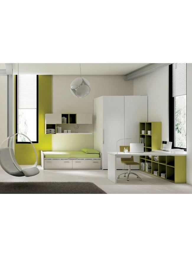 chambre ado avec canap. Black Bedroom Furniture Sets. Home Design Ideas