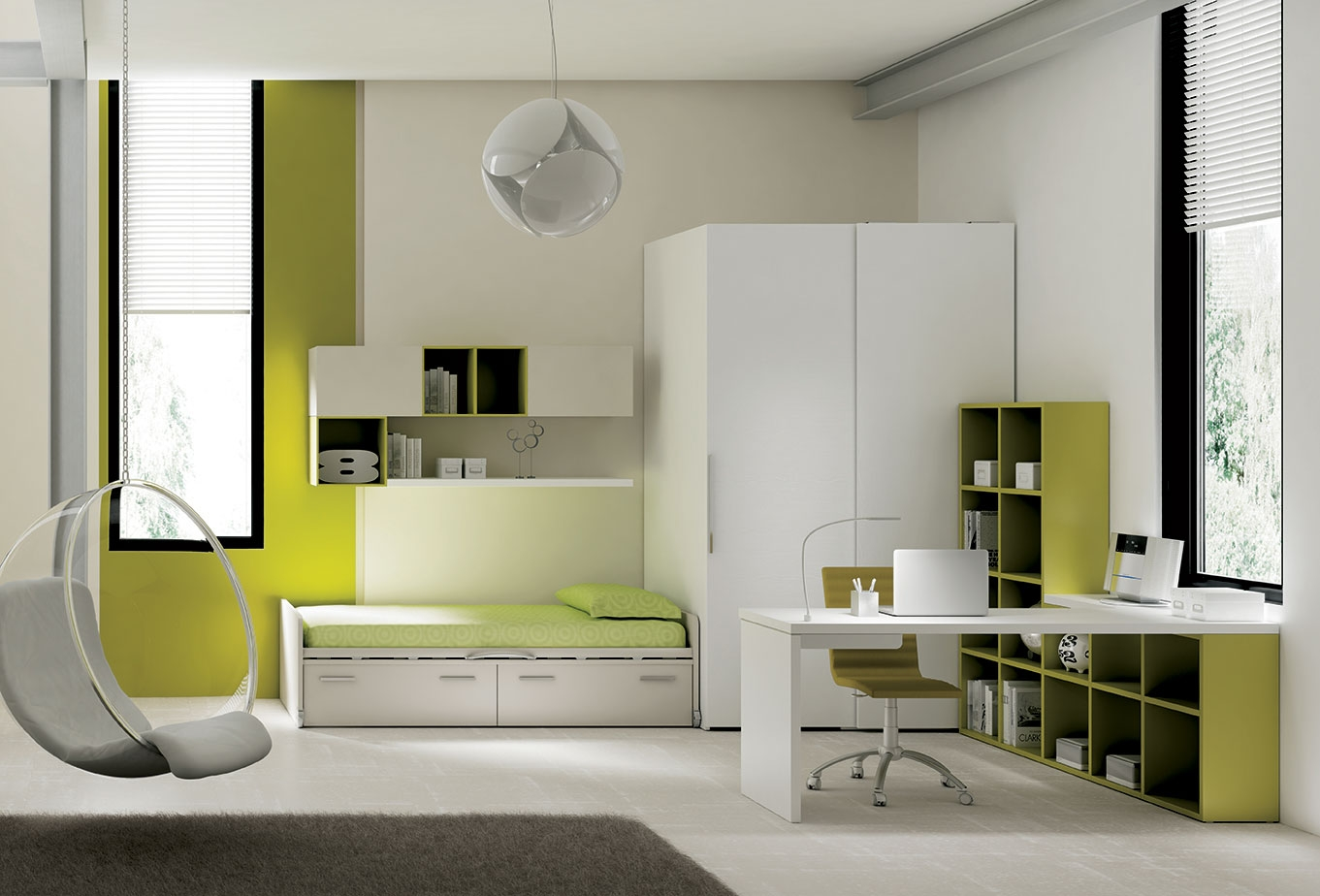 chambre ado avec lit avec rangement moretti compact so. Black Bedroom Furniture Sets. Home Design Ideas
