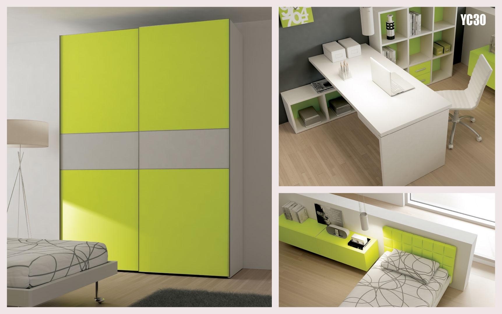 chambre ado avec lit 1 personne pur et fun moretti compact so nuit. Black Bedroom Furniture Sets. Home Design Ideas