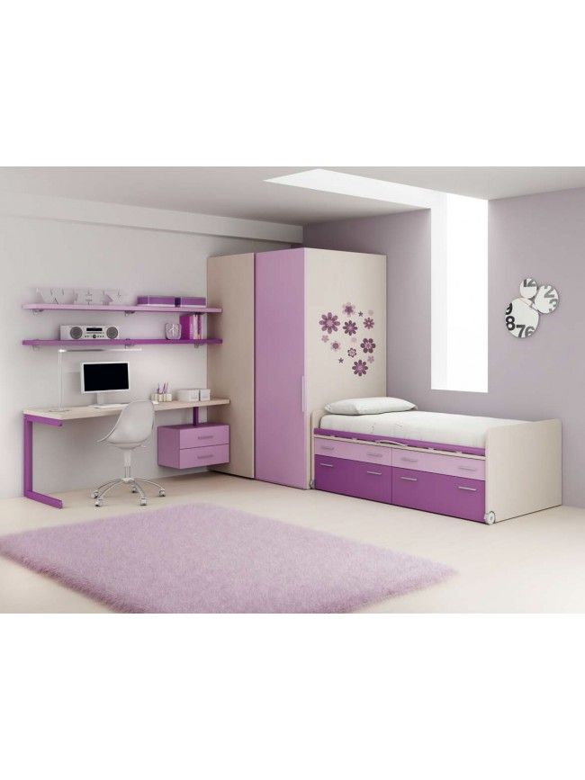 rangement chambre fille efficacite accueil design et. Black Bedroom Furniture Sets. Home Design Ideas