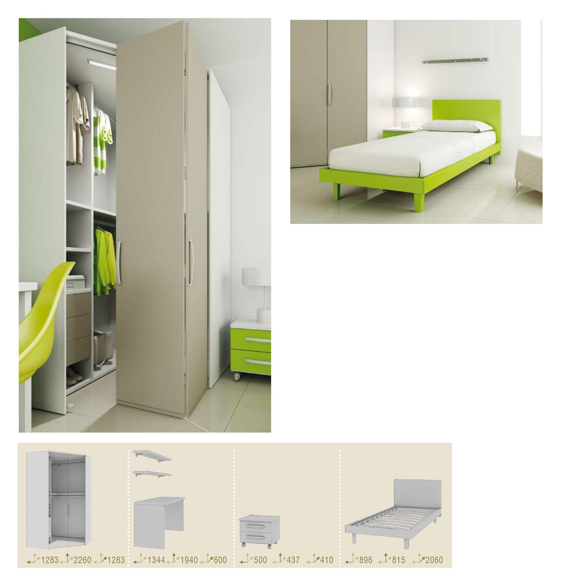 lit 1 personne ensemble tr s moderne fun moretti compact so nuit. Black Bedroom Furniture Sets. Home Design Ideas