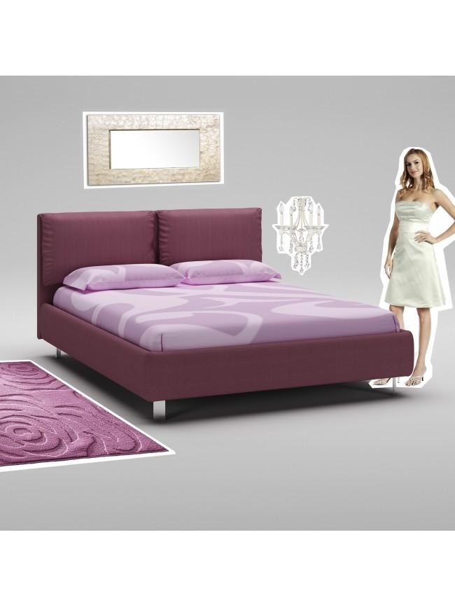 chambre coucher avec t te de lit capitonn cuir piermaria so nuit. Black Bedroom Furniture Sets. Home Design Ideas