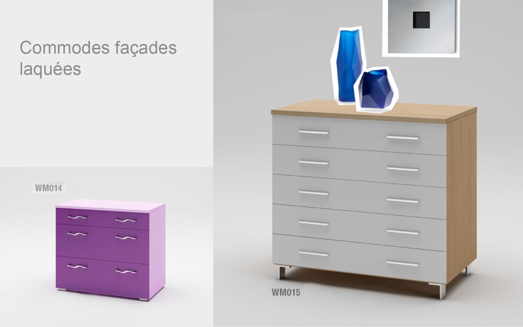 Lit Ado Mélèze Avec Tête De Lit Rembourrée MORETTI COMPACT SO NUIT - Cadre de lit ado