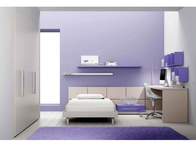 Chambre ado PERSONNALISABLE BF40 lit ado - MORETTI COMPACT
