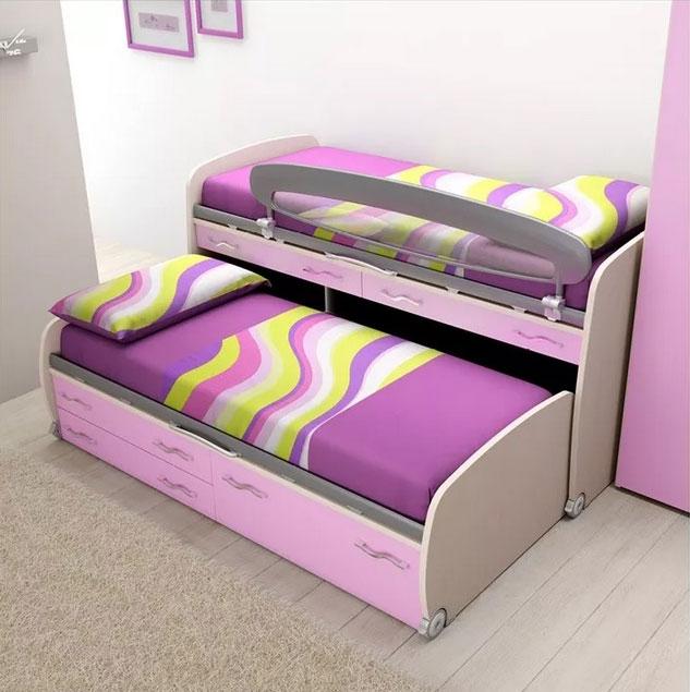 chambre enfant compl te lit sur lev moretti compact so nuit. Black Bedroom Furniture Sets. Home Design Ideas
