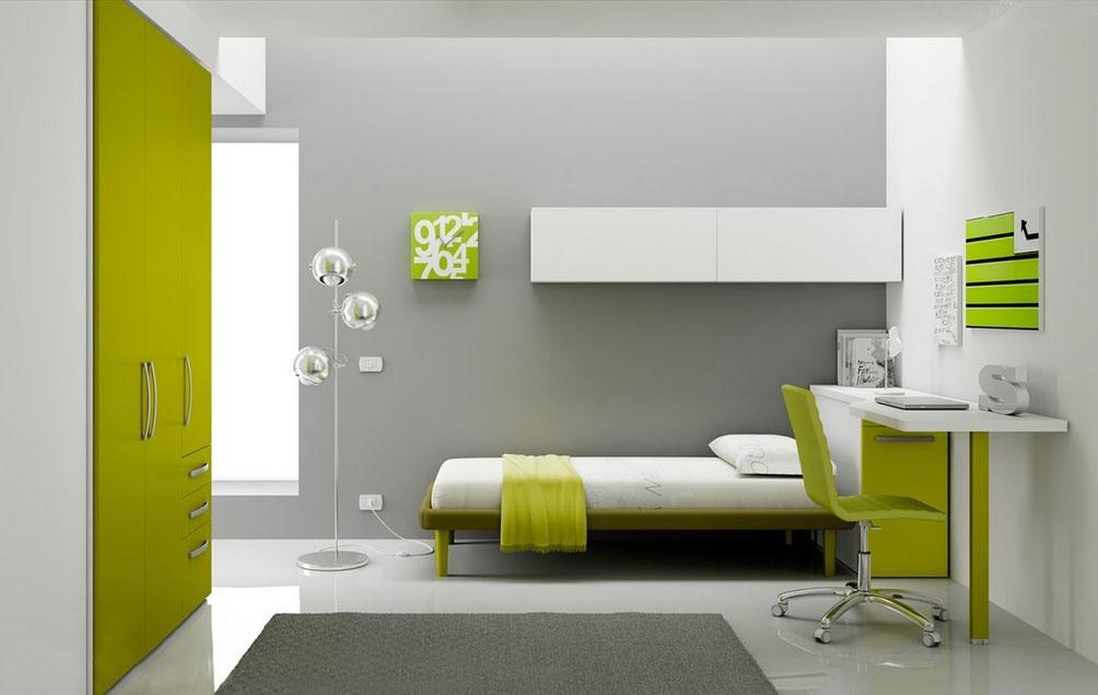 Chambre enfant PERSONNALISABLE BF44 lit 1 personne - MORETTI COMPACT