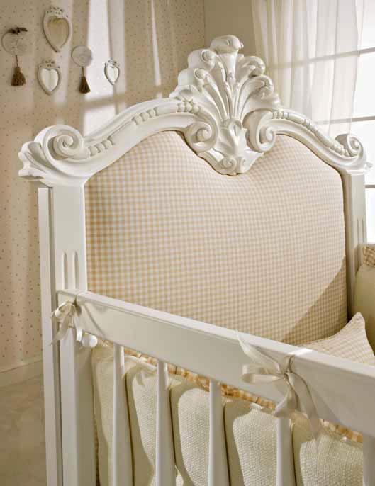 berceau b b tiffany avec garde corps amovible piermaria so nuit. Black Bedroom Furniture Sets. Home Design Ideas