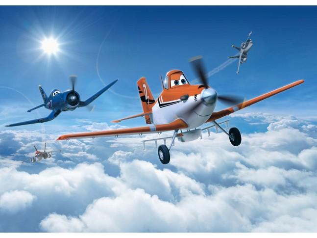 Poster XXL PLANES dans les nuages - Panoramique Disney - KOMAR
