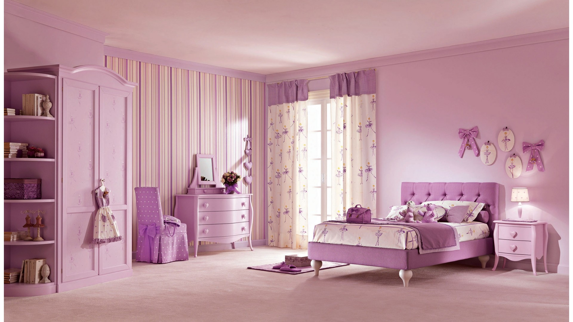 stunning chambre de princesse ideas. Black Bedroom Furniture Sets. Home Design Ideas