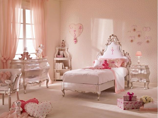 Lit princesse 1 personne chambre PERSONNALISABLE Cécile 2- PIERMARIA