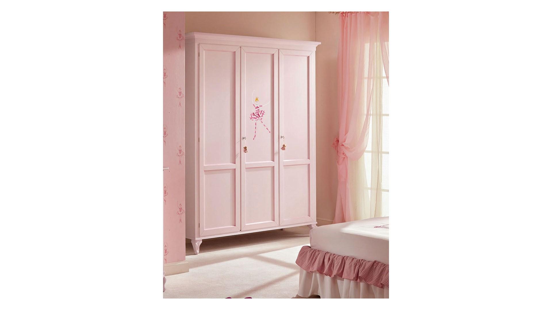 Armoire penderie PERSONNALISABLE 3 portes avec décor - PIERMARIA
