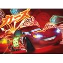 Poster mural Cars Néon - Panoramique Disney - KOMAR