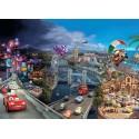 Poster XXL Le monde de Cars - Panoramique Disney - KOMAR