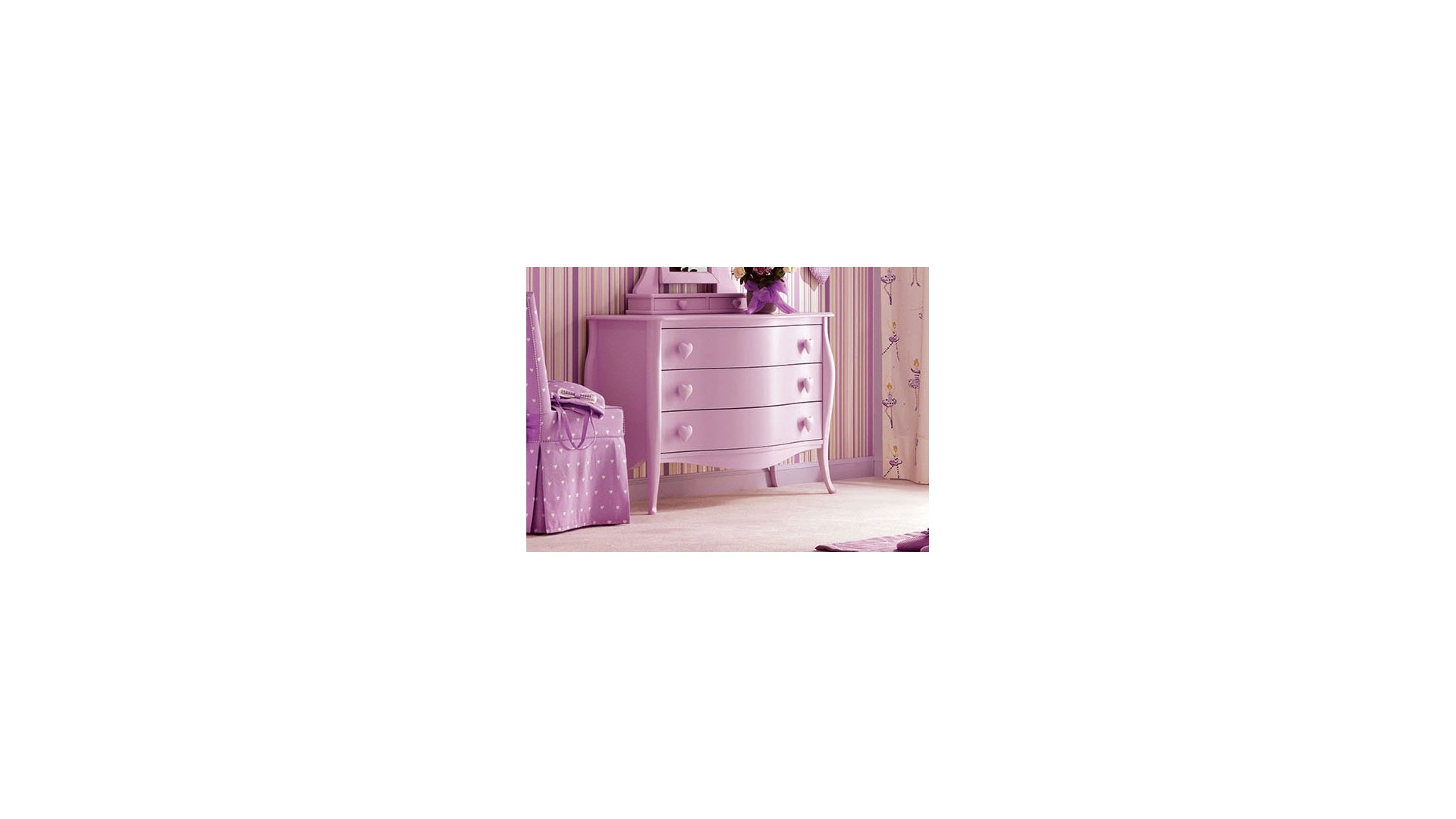 Commode 3 tiroirs Chanel PERSONNALISABLE - PIERMARIA