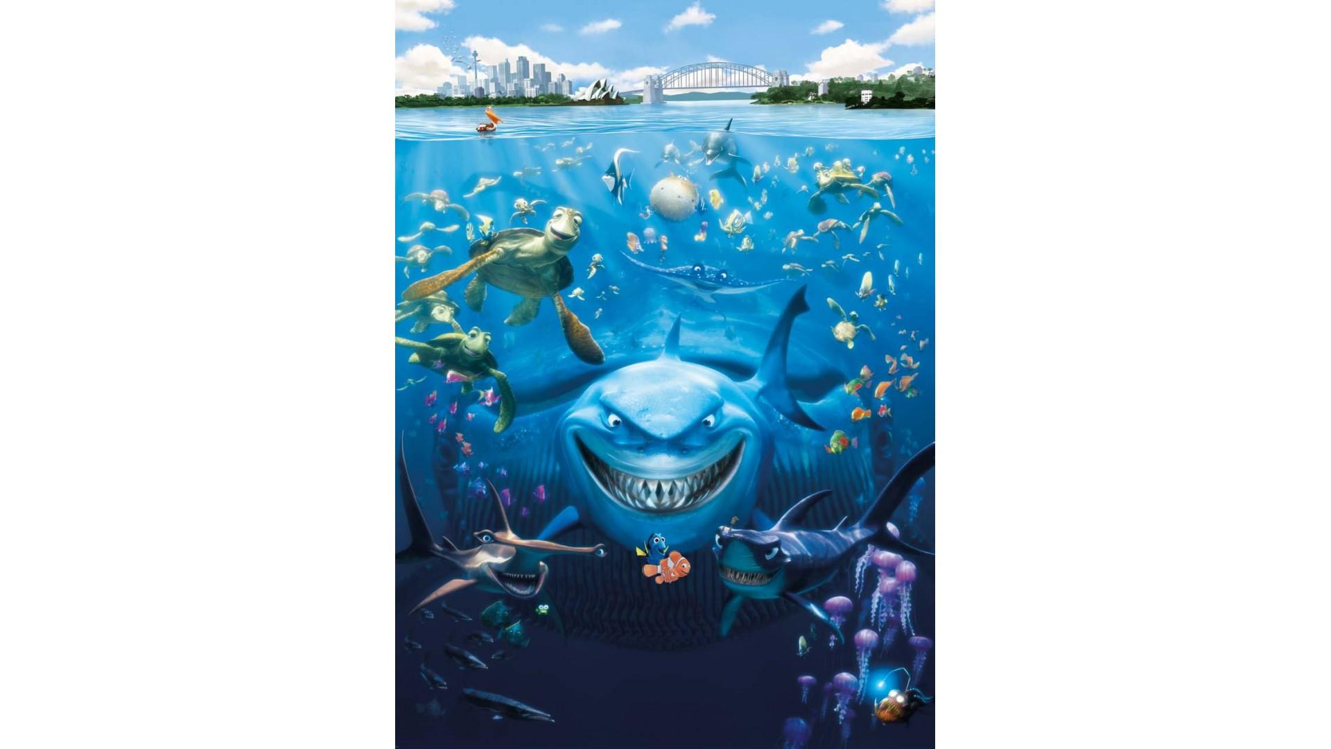 Poster mural Le monde de Nemo - Panoramique Disney - KOMAR