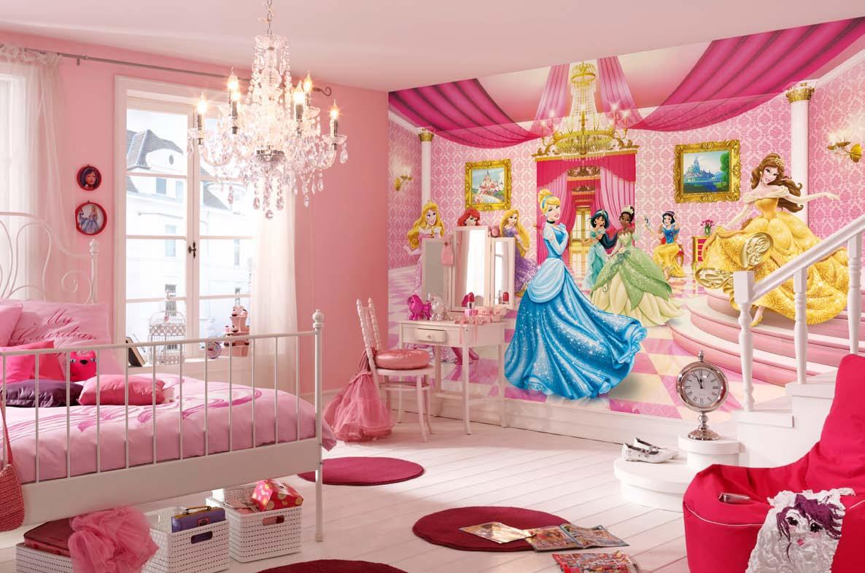 Poster xxl le bal des princesses disney   panoramique komar   so nuit