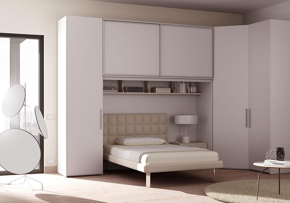 Chambre ado complète lit 1 personne design - MORETTI COMPACT ...