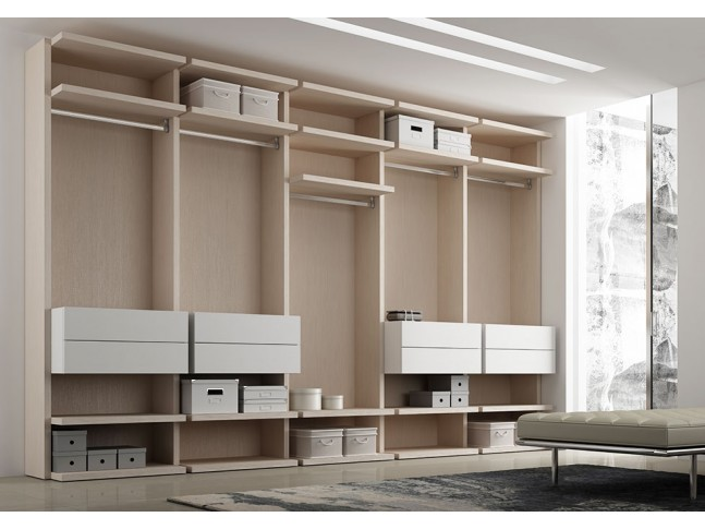 dressing sur mesure moderne design pur moretti. Black Bedroom Furniture Sets. Home Design Ideas