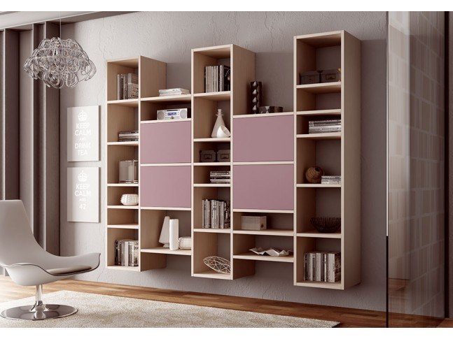 Meuble Biblioth Que Design Carr Et Suspendu Moretti Compact So Nuit