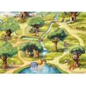 Poster mural Le Monde De Winnie l'Ourson - Panoramique Disney - KOMAR