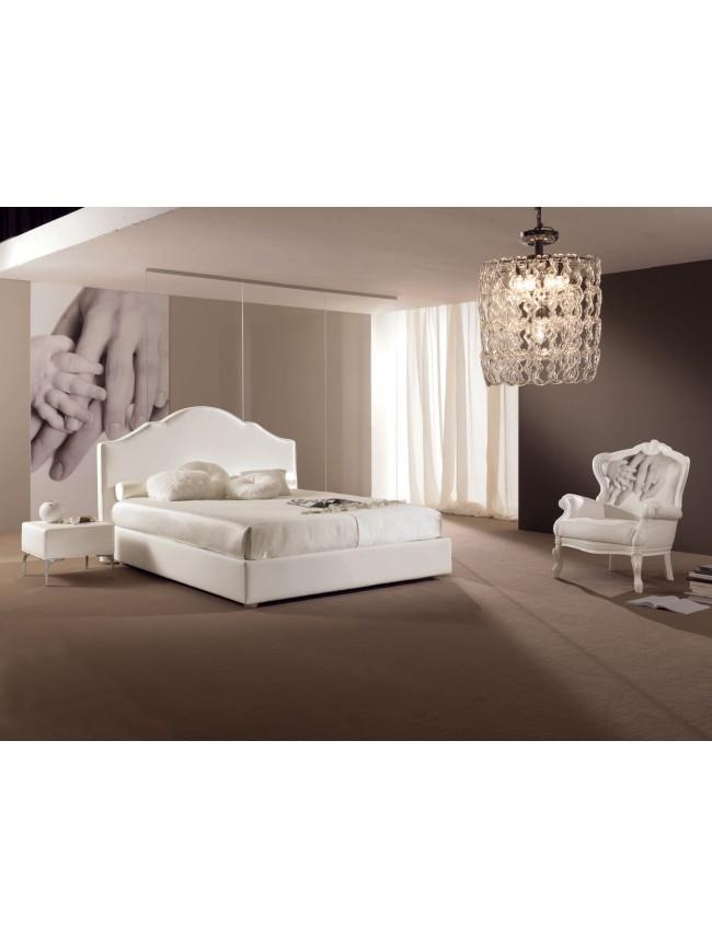 chambre coucher avec lit 2 places design pure piermaria so nuit. Black Bedroom Furniture Sets. Home Design Ideas
