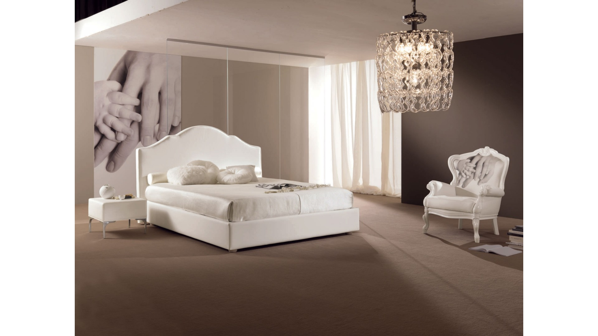 Lit Double Chambre à Coucher PERSONNALISABLE Aymeric   PIERMARIA
