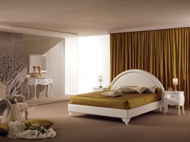 Lit double chambre adulte PERSONNALISABLE Nuvola/p - PIERMARIA