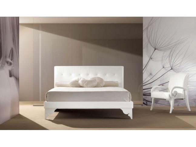 Lit double chambre PERSONNALISABLE Ivory- PIERMARIA