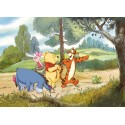 Poster mural l'expédition de Winnie l'Ourson - Panoramique Disney - KOMAR