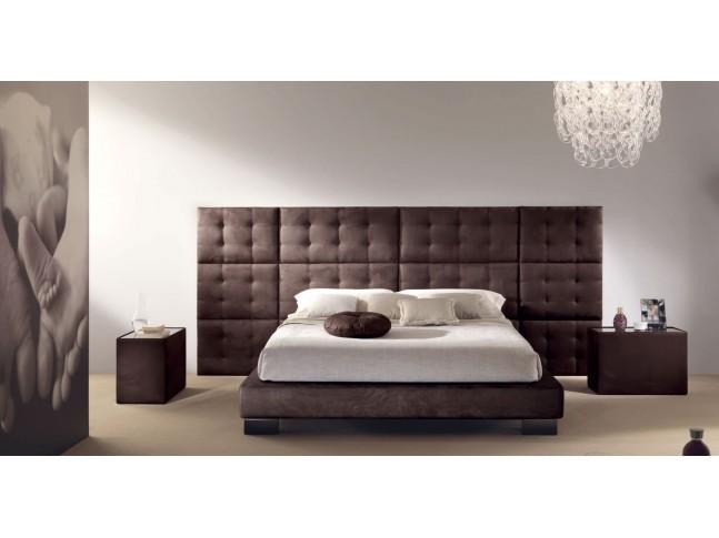 Lit double chambre à coucher PERSONNALISABLE Menhir - PIERMARIA