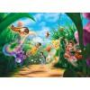 Poster XXL La Fée clochette et ses amies - Panoramique Disney - KOMAR