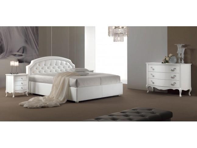 Lit double chambre à coucher PERSONNALISABLE Maxime/K - PIERMARIA