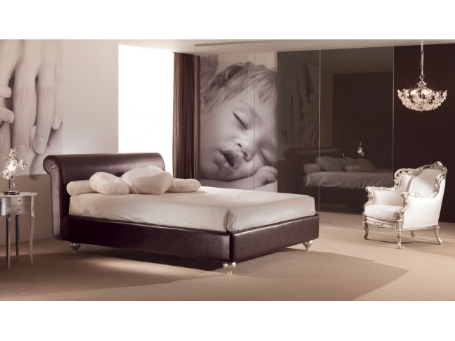 Lit 2 places chambre à coucher PERSONNALISABLE Victor - PIERMARIA