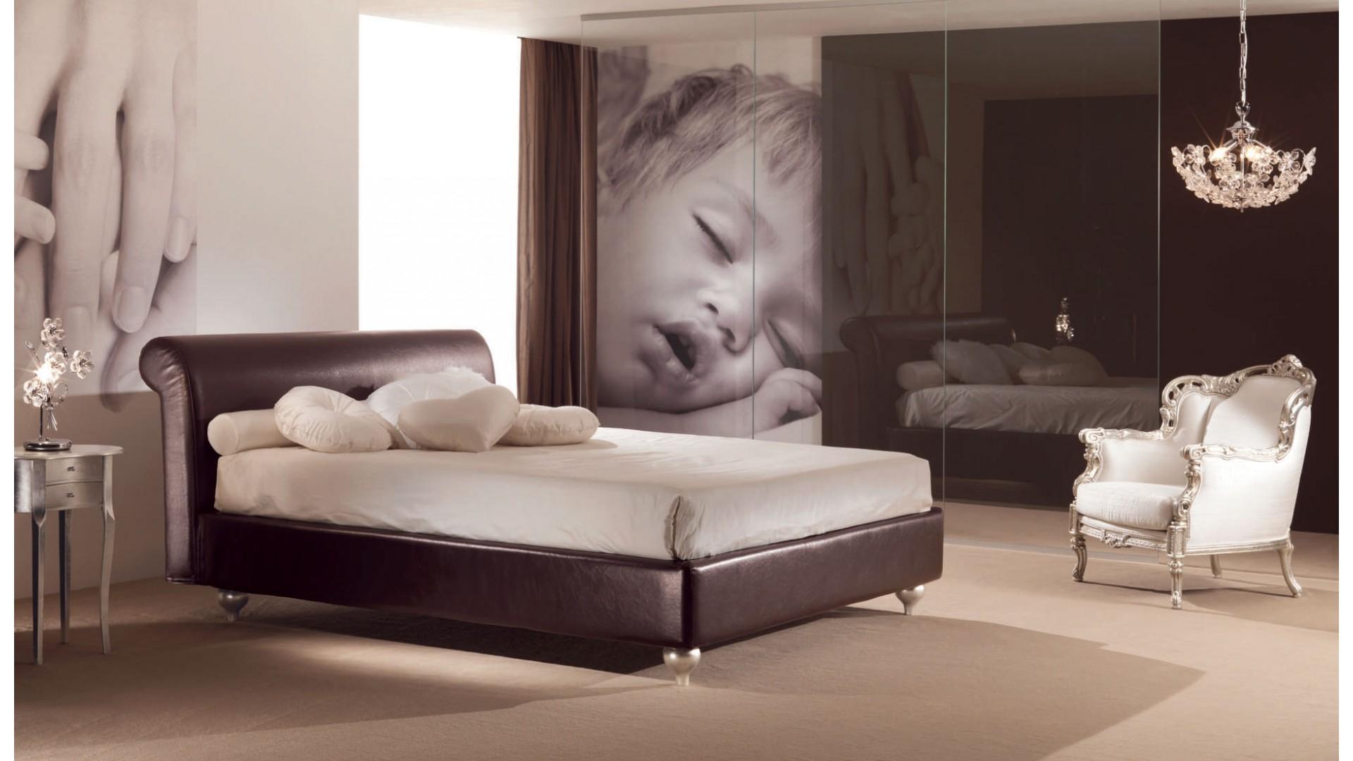Lit 2 places chambre à coucher personnalisable victor piermaria