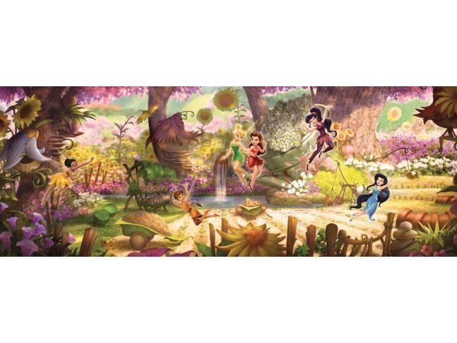 Poster mural le monde de la fée Clochette - Panoramique Disney - KOMAR