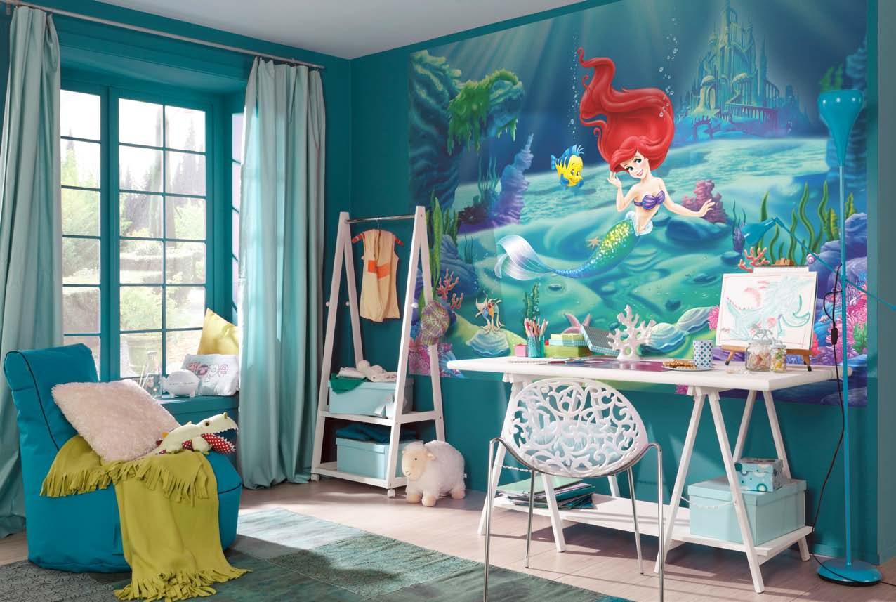 Poster mural La Petite Siréne - PANORAMIQUE Disney KOMAR - SO NUIT