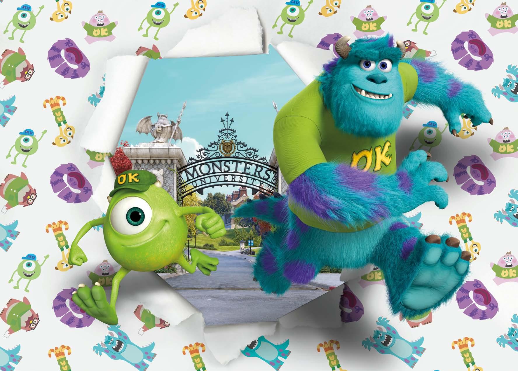 Poster XXL L'université de Monstres et Compagnie - Panoramique Disney - KOMAR