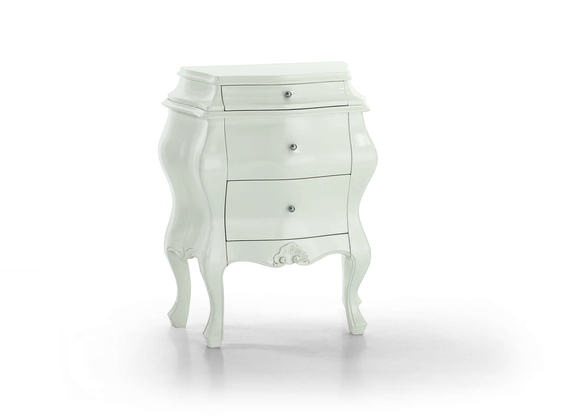Commode maison laqu e la feuille d 39 argent piermaria - Console commode ...