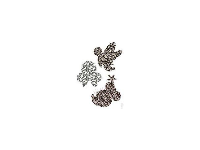 Stickers muraux Minnie Art - Panoramique Disney - KOMAR