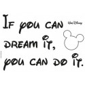 Stickers muraux If you can dream - Panoramique Disney - KOMAR